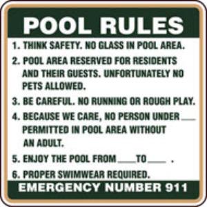 pool-rules